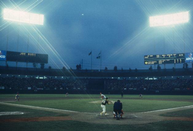 1972年世界大賽時的Oakland-Alameda County Coliseum(Photo by Focus On Sport/Getty Images)