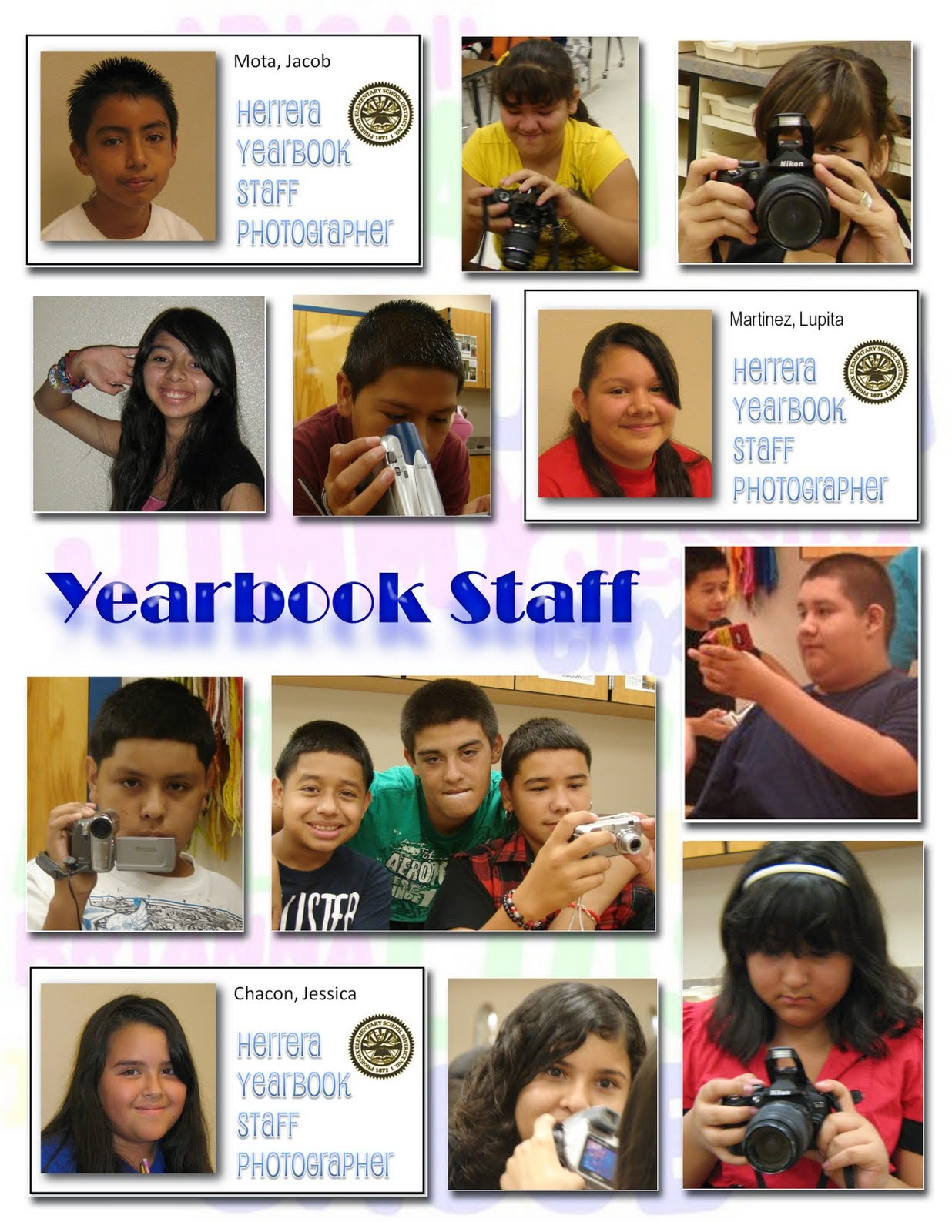 Yearbook Staff 2010-2011