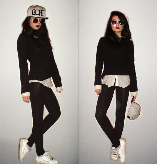 sporty outfit style with veni