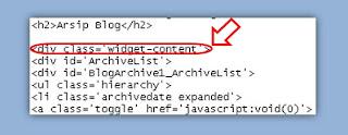 arsiv blog, archieve blog, blog archieve, scroll box blog archieve, scrolling blog arsip