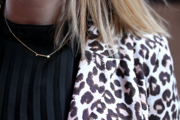maya brenner designs arrow necklace