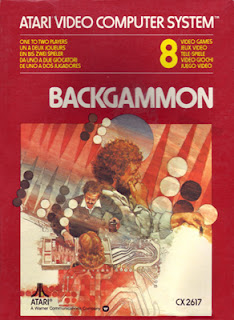 Backgammon Atari 2600