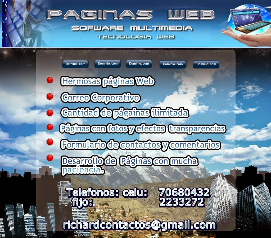 La Paz web