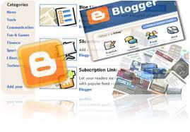 widget blog