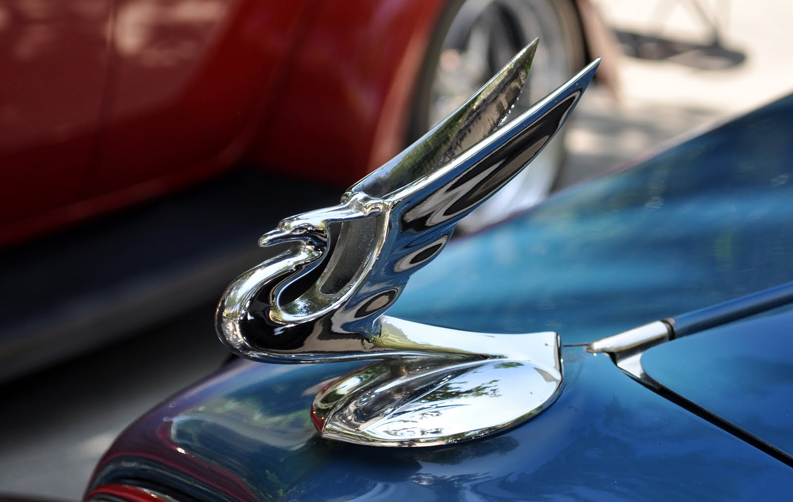 of this hood ornament.