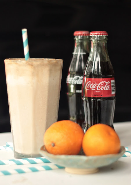 Rum and Coke Ice Cream Float | www.SongofSpiceandFire.com
