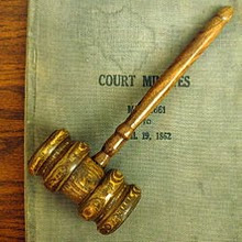 Why do Judges Use a Gavel