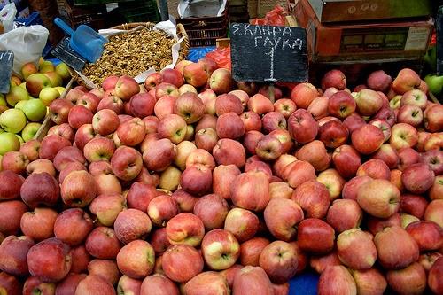 Farmer's Market in Athens, Greece.