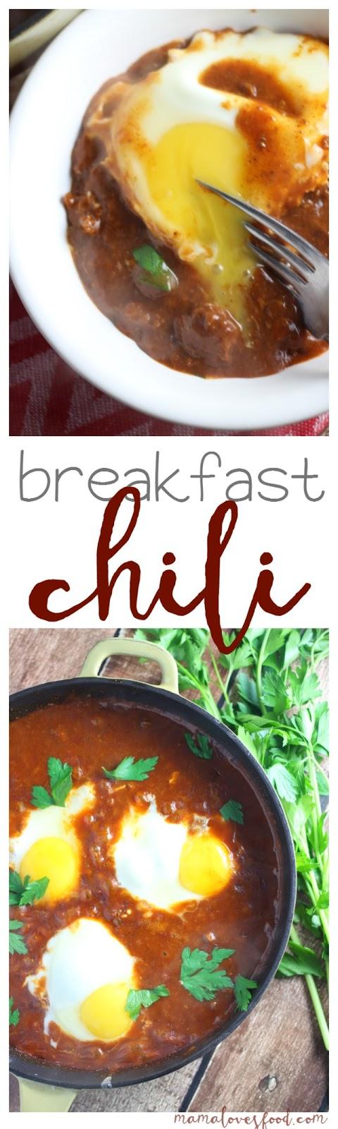 Breakfast Chili Recipe
