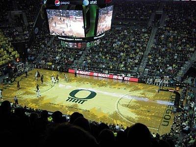 The University of Oregon Duck