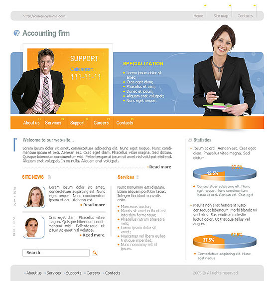 Accounting Website Templates3