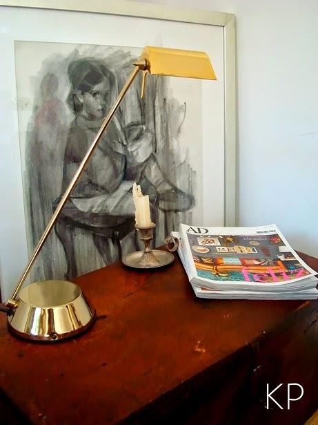 Lámparas vintage de mesa marca FASE