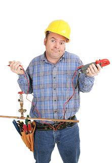 eletricista confuso