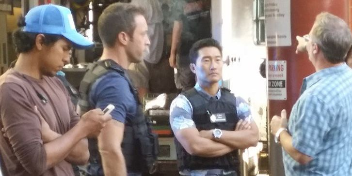 Hawaii Five-0 - Season 5 - BTS Set Photos