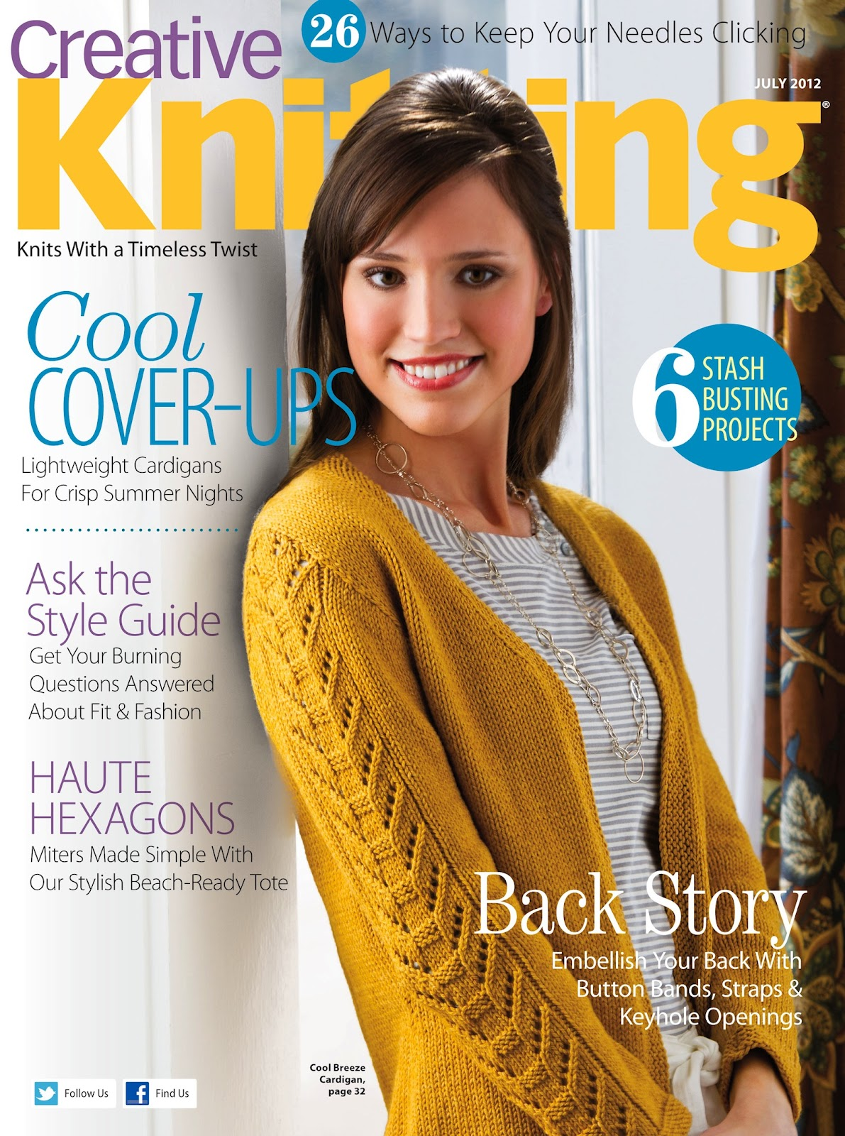 Creative Knitting : neeka knits: Knit Chandelier Necklace in Creative Knitting Magazine