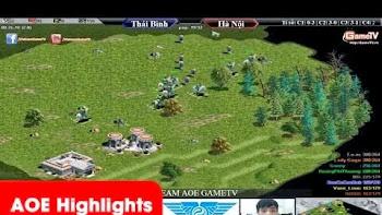 Aoe Highlights - Chiến thuật rất phiêu đến từ team Thái Bình