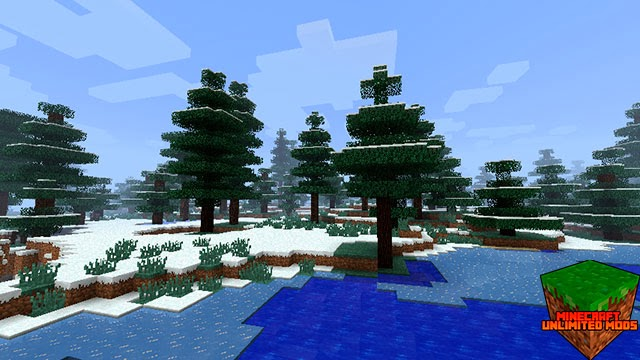 Biomes O' Plenty Mod Minecraft nieve