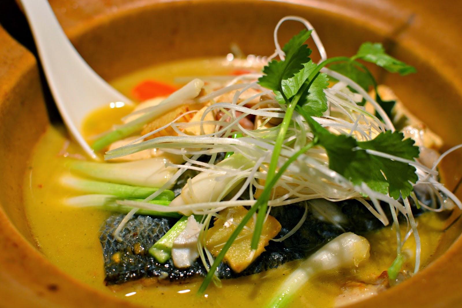 Hakkasan sea bass for golden week menu