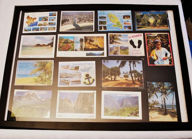 Mes cartes postales et id e diy sabine oignons - Rangement cartes postales ...