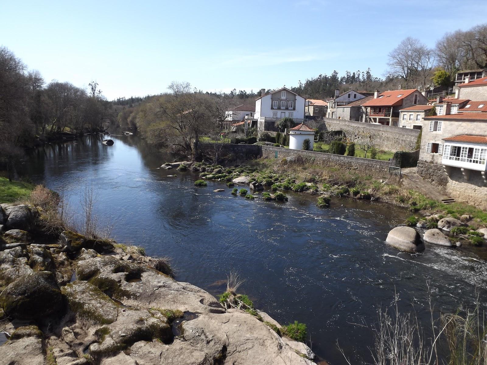 A ponte Maceira Santiago de Compostela Galicia