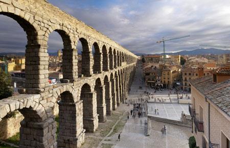 Construcciones romanas - Acueducto de segovia arquitectura ...