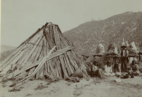 A Woodsrunner39s Diary Houses Of California Native Americans Described