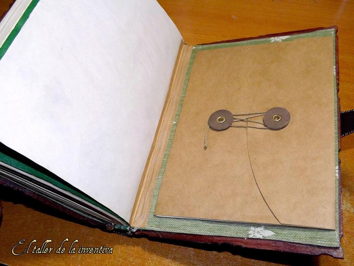 El taller de la inventiva c mo hacer libros cuadernos - Trabajos caseros para hacer en casa ...