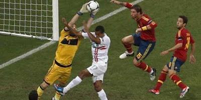 Hasil Pertandingan Spanyol vs Portugal