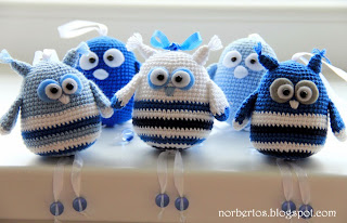 Crochet bird and owl free pattern