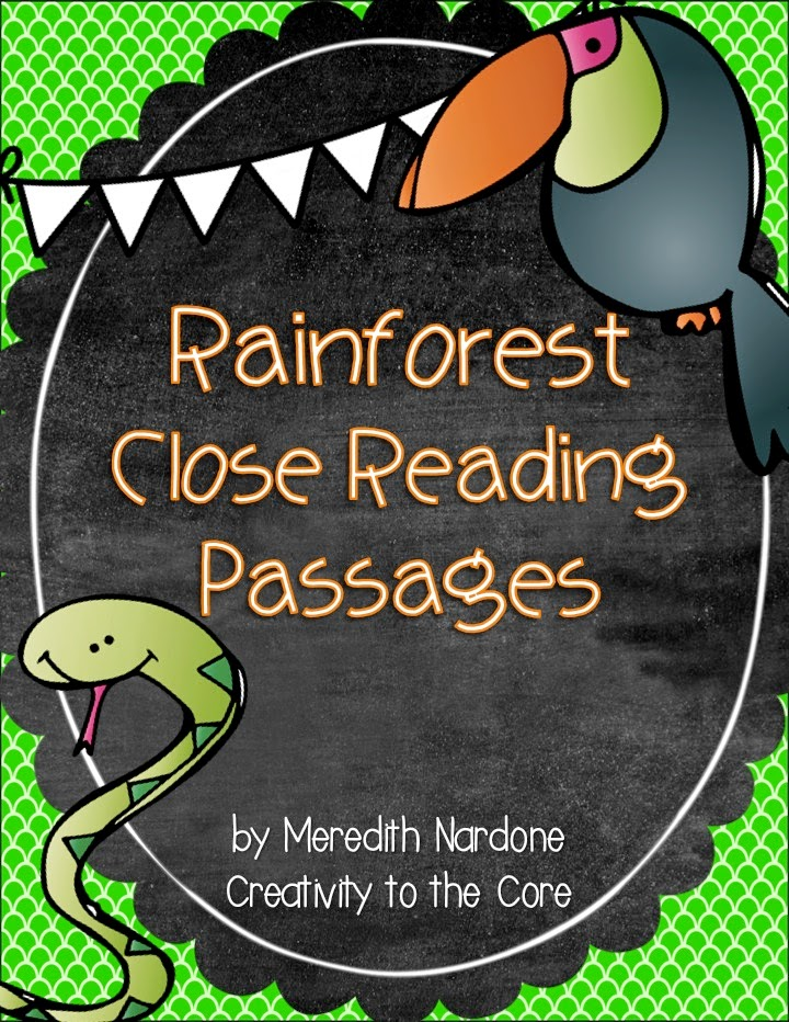 Close reading passages 5th grade