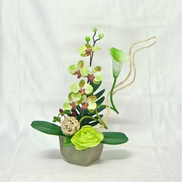 Sorteos e ideas centros de mesa - Arreglos florales artificiales para casa ...