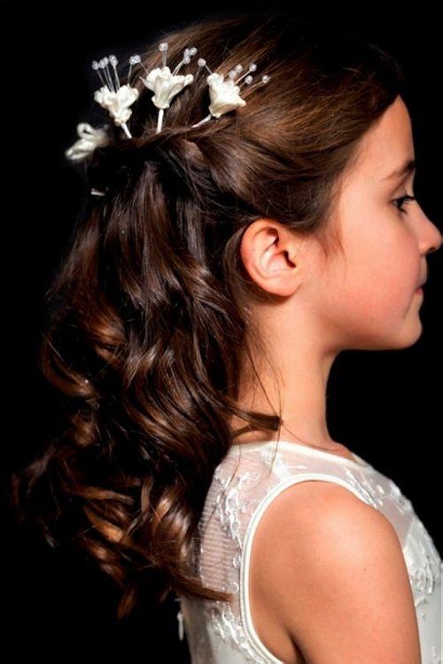 WhiteAzalea Junior Dresses: Hairstyles for Junior Bridesmaids