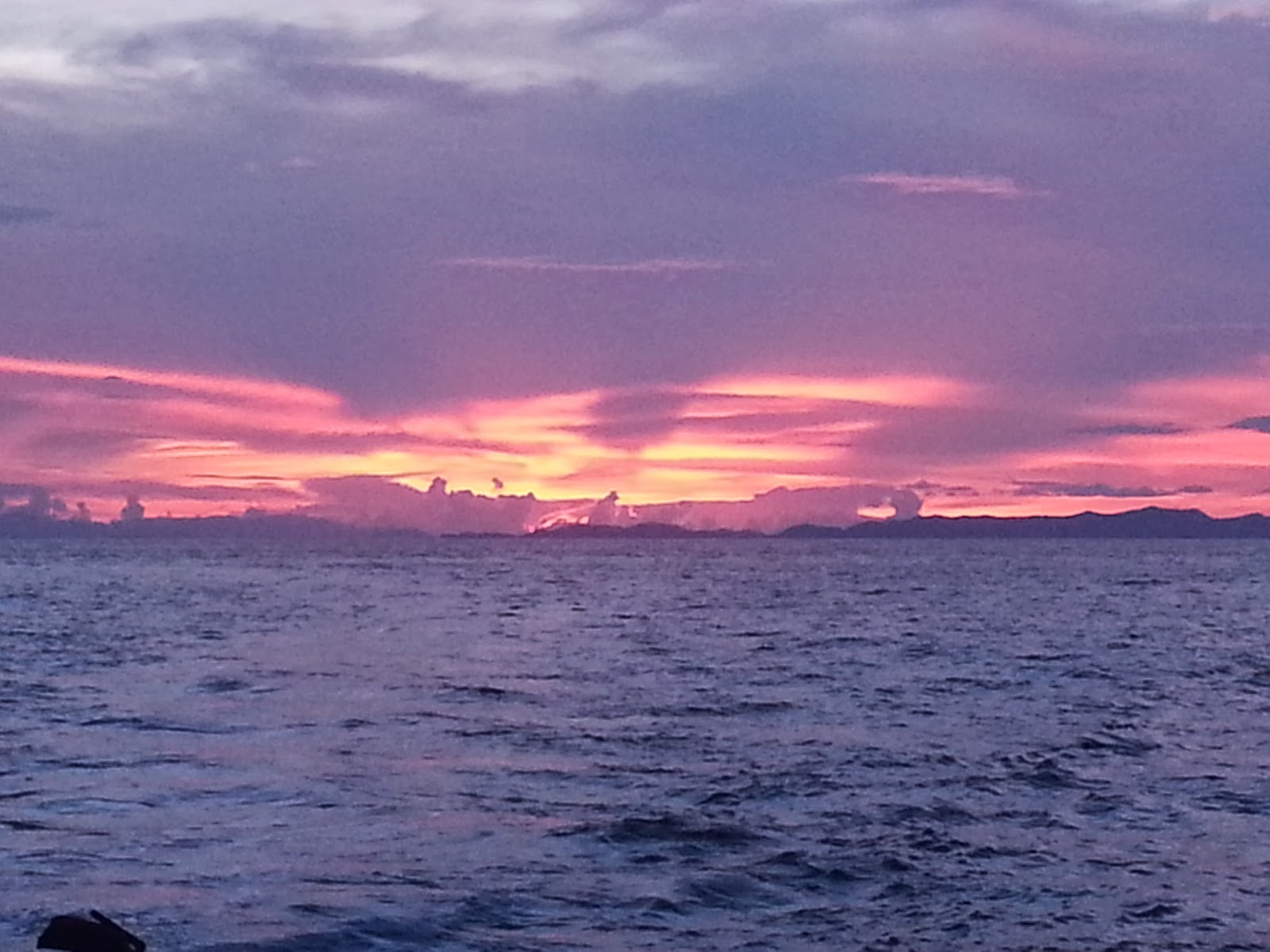 Sunrise at Bamboo Island - Phi Phi
