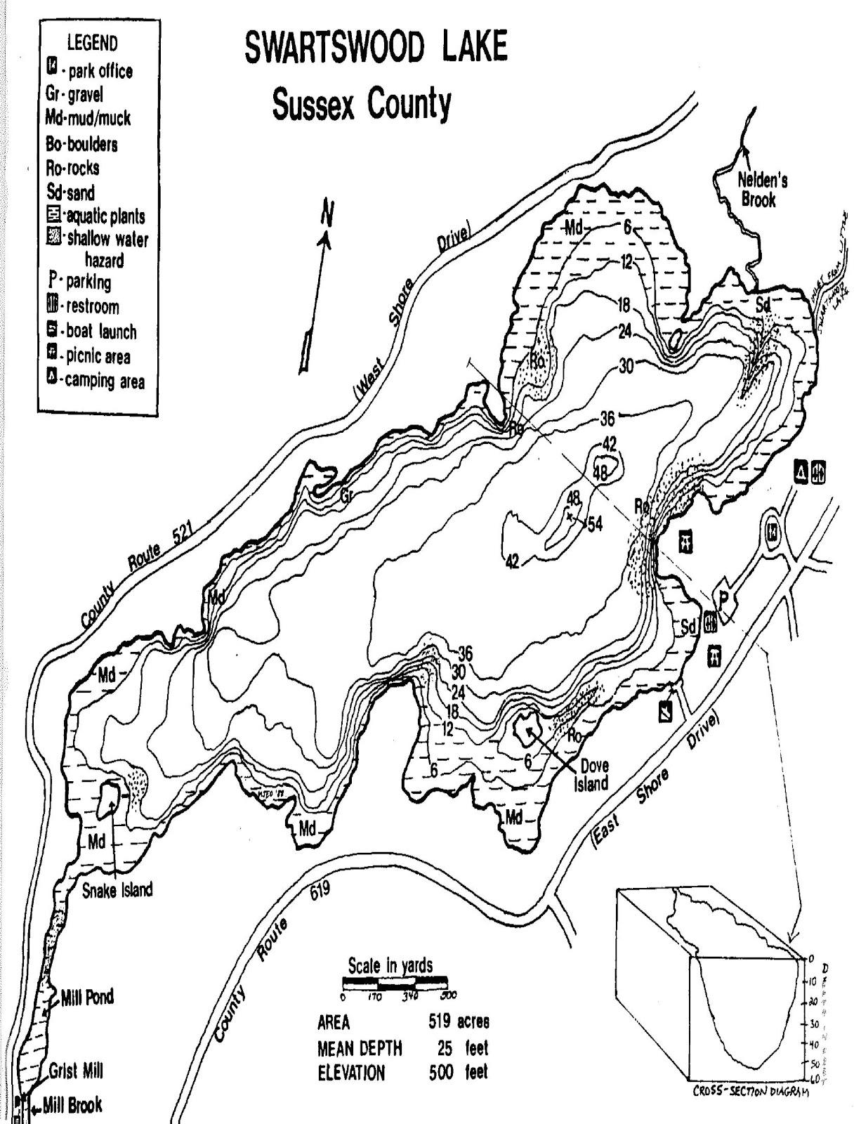 Sussex county fisherman planning monksville reservoir for Brinkman s fishing report