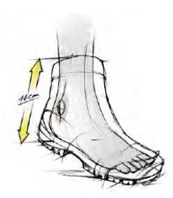desain sepatu gunung