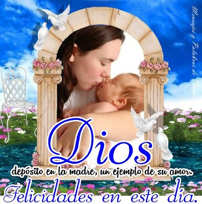 Dios depositó en la madre un ejemplo de su amor.