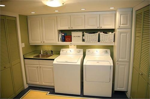 Laundry Room Cabinets Interior Design