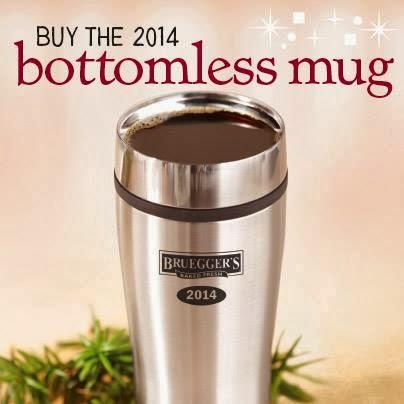 Bruegger's bottomless mug