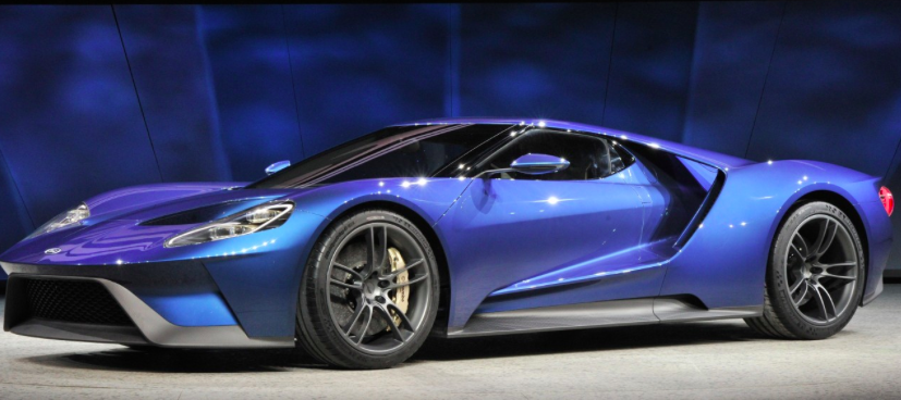 "Ford GT Named ""Best Production Vehicle"" at 2015 NAIAS"