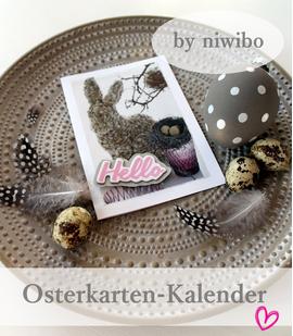 Osterkartenkalender