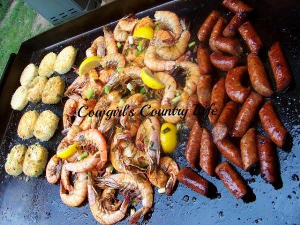 Shrimp~n~Grits...Griddle Style