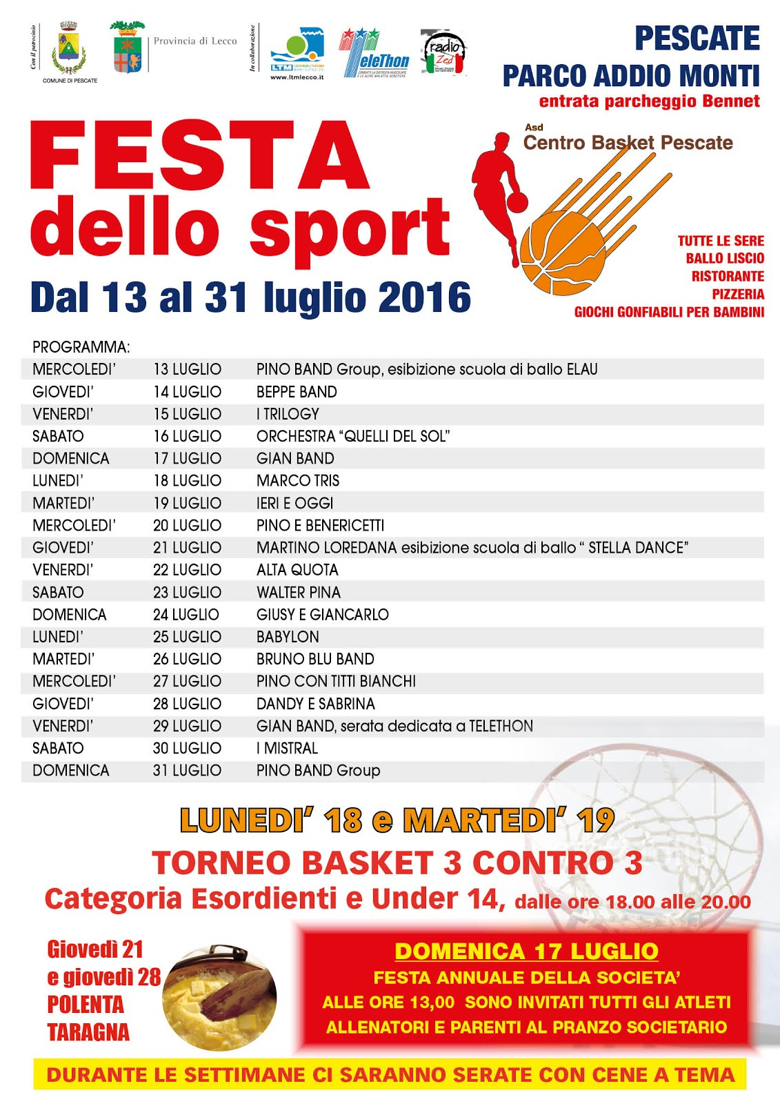 Festa dello sport