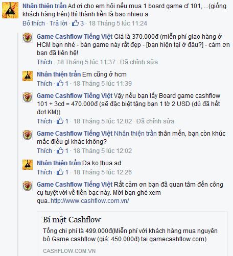 game cashflow về với Phú Nhuận