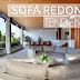 Trend alert: Sofá arredondado! Veja modelos e ambientes decorados com essa tendência!