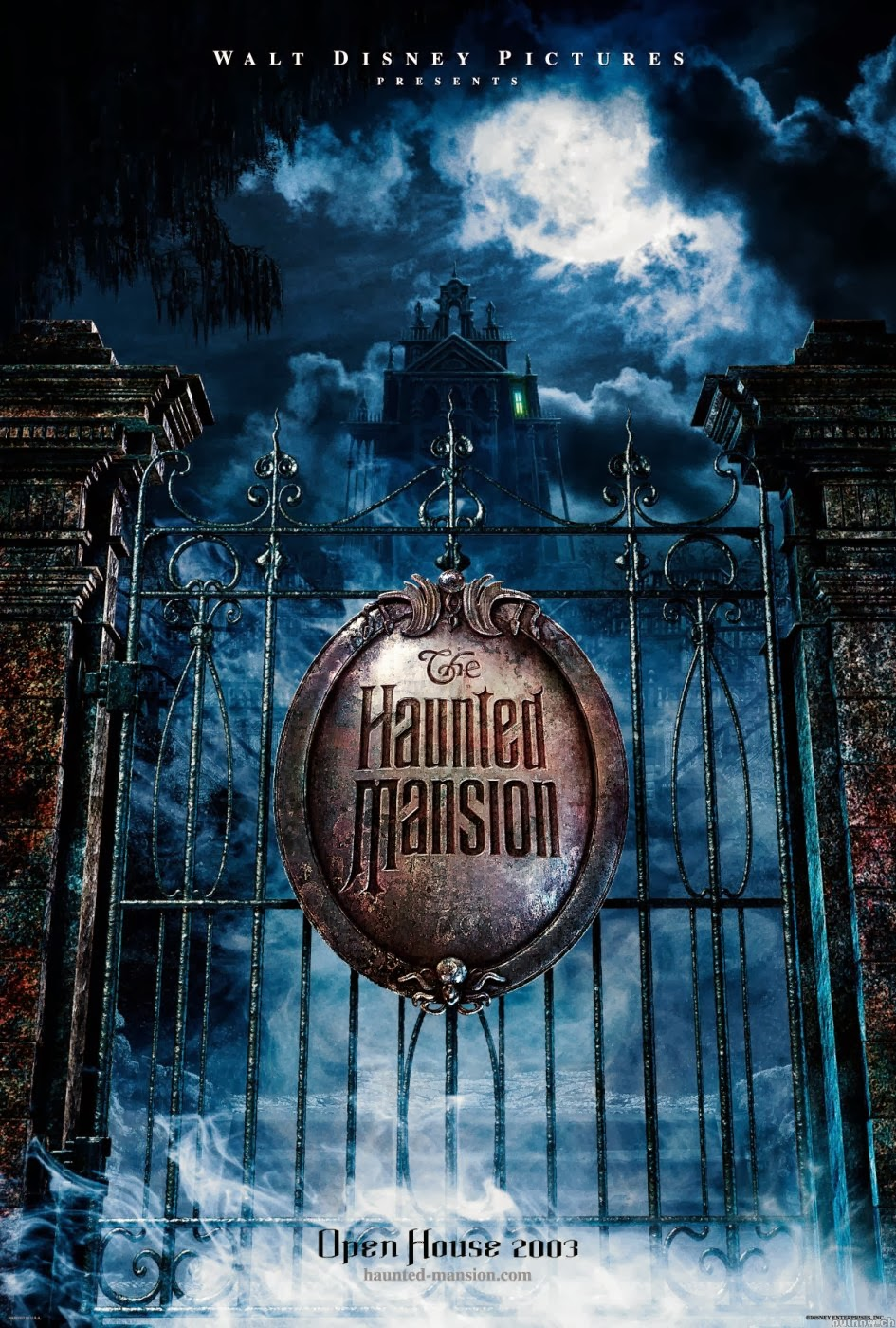 Hubbs Movie Reviews The Haunted Mansion 2003