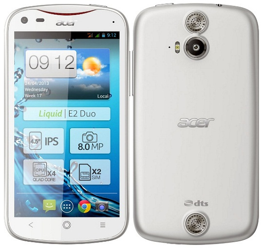 Acer Liquid E2 - Price, Features and Specifications