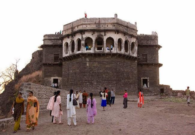 Daulatabad Fort in Devagiri, Maharashtra