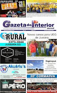 VEJA A EDIÇÃO Nº 57 DO JORNAL GAZETA DO INTERIOR