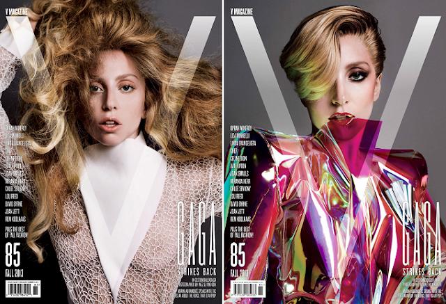 Lady Gaga fue nombrada editora invitada para la la revista V Magazine.