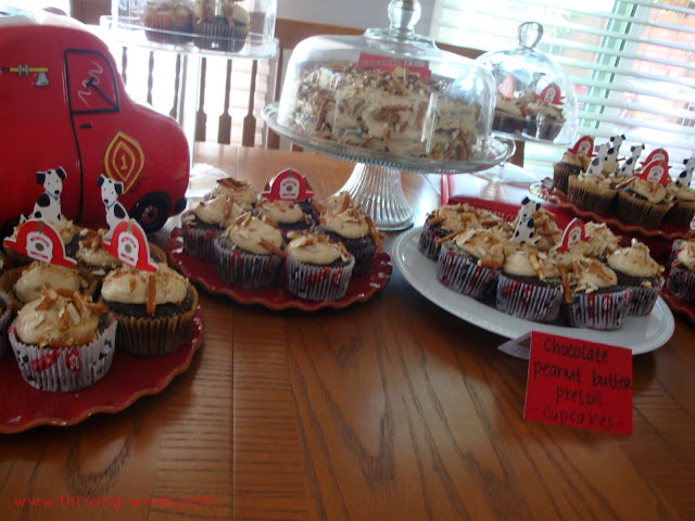 fireman fire fighter themed party